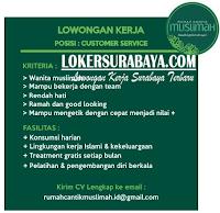 Loker Surabaya Terbaru di Rumah Cantik Muslimah Surabaya November 2019
