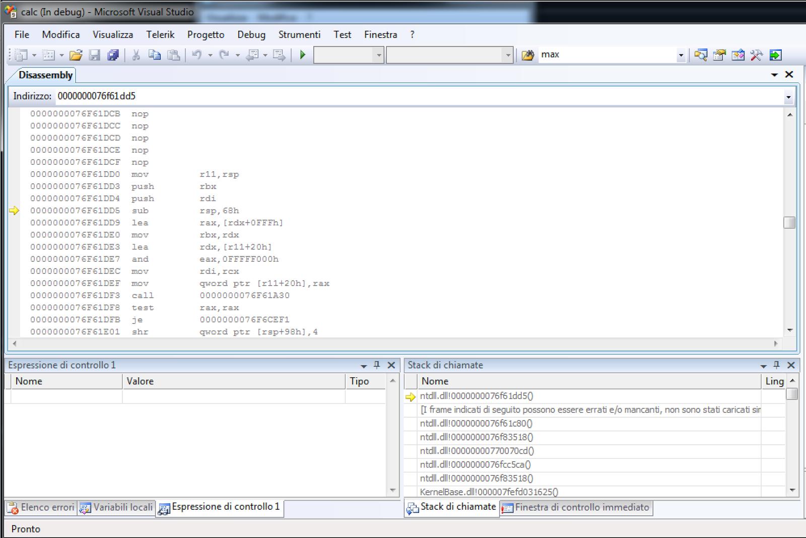 Marco Ramilli's Blog: BUG in WinCalc.exe