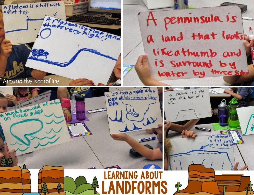 Learning About Landforms~ A quick, informal assessment