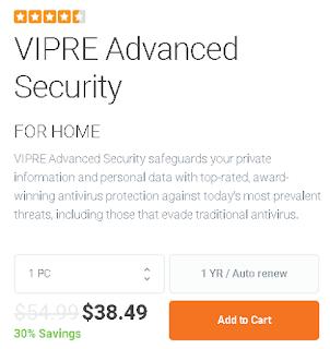 harga dari vipre antivirus