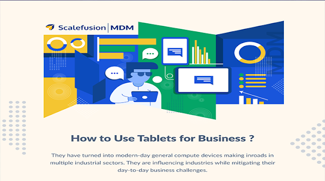 How to Use Tablets in Business