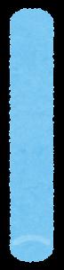 チョークのイラスト(青)