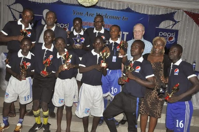 Pepsi Academy Honours Youngsters and Coaches at Gala Night