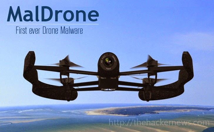 MalDrone —  First Ever Backdoor Malware for Drones