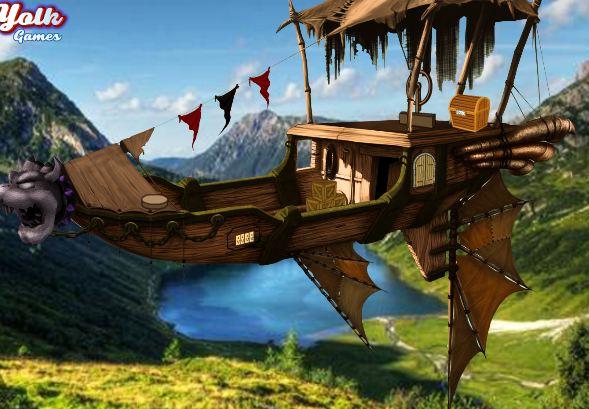 YolkGames Steampunk Airship Escape
