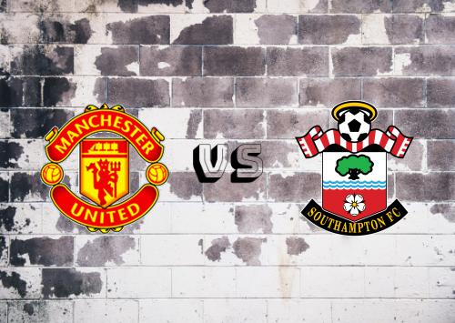 Manchester United vs Southampton  Resumen y Partido Completo