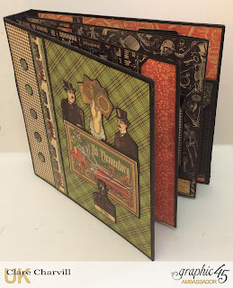 Master Detective Mini Album and Case 3 Clare Charvill Graphic 45