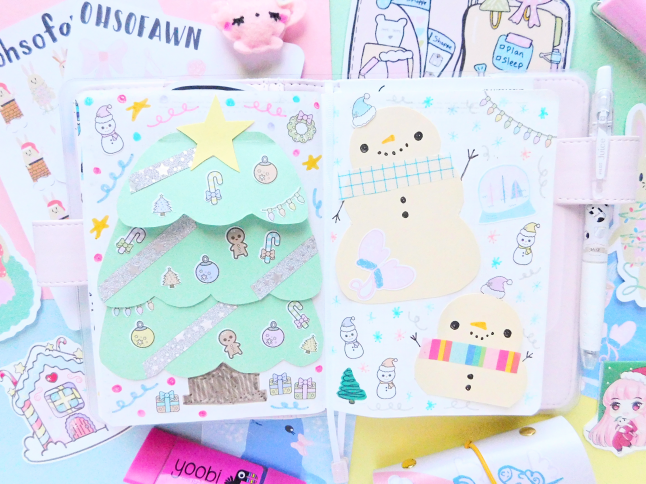Kawaii Journaling Holiday Challenge