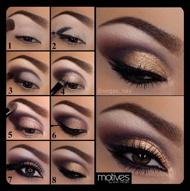 How to make a smokey eye with makeup