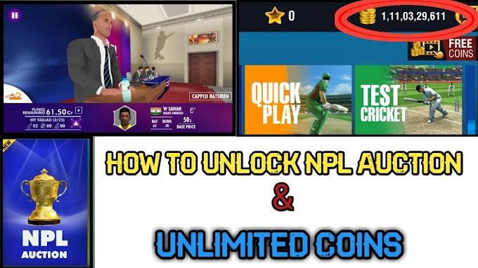 How To Unlock IPL Auction In Wcc2 || World Cricket Championship 2 Unlock NPL Auction & Unlimited || Full Gameplay Proof