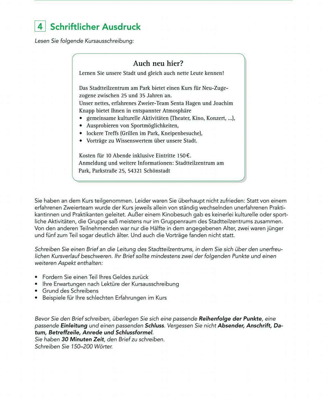 Briefe Schreiben B2 Deutsch Mit Marija 9