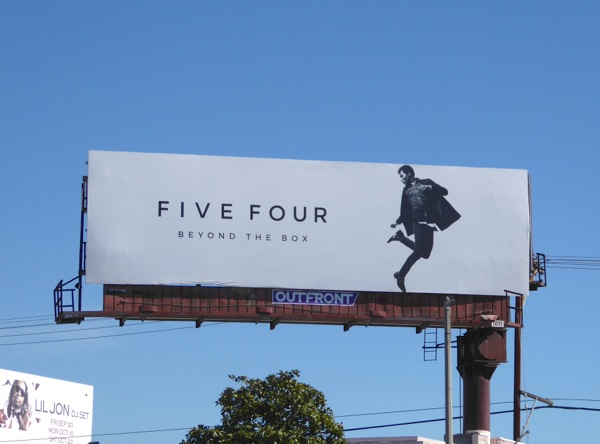 Five Four Beyond the box fashion billboard