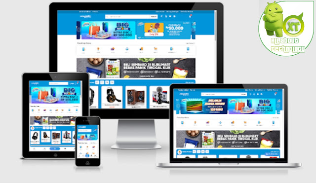 Premium SimpleBli Ecommerce Blogger Template Free Download