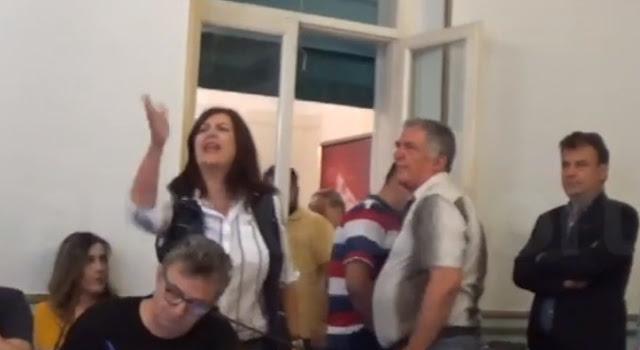 Αδιανόητα καταστάσεις: Εκτός ελέγχου η Κωνσταντίνα Νικολάκου - Μπάχαλο η συνέντευξη Τατούλη (βίντεο)
