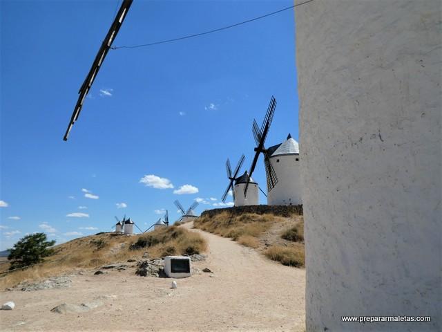 visitar molinos de viento en La Mancha