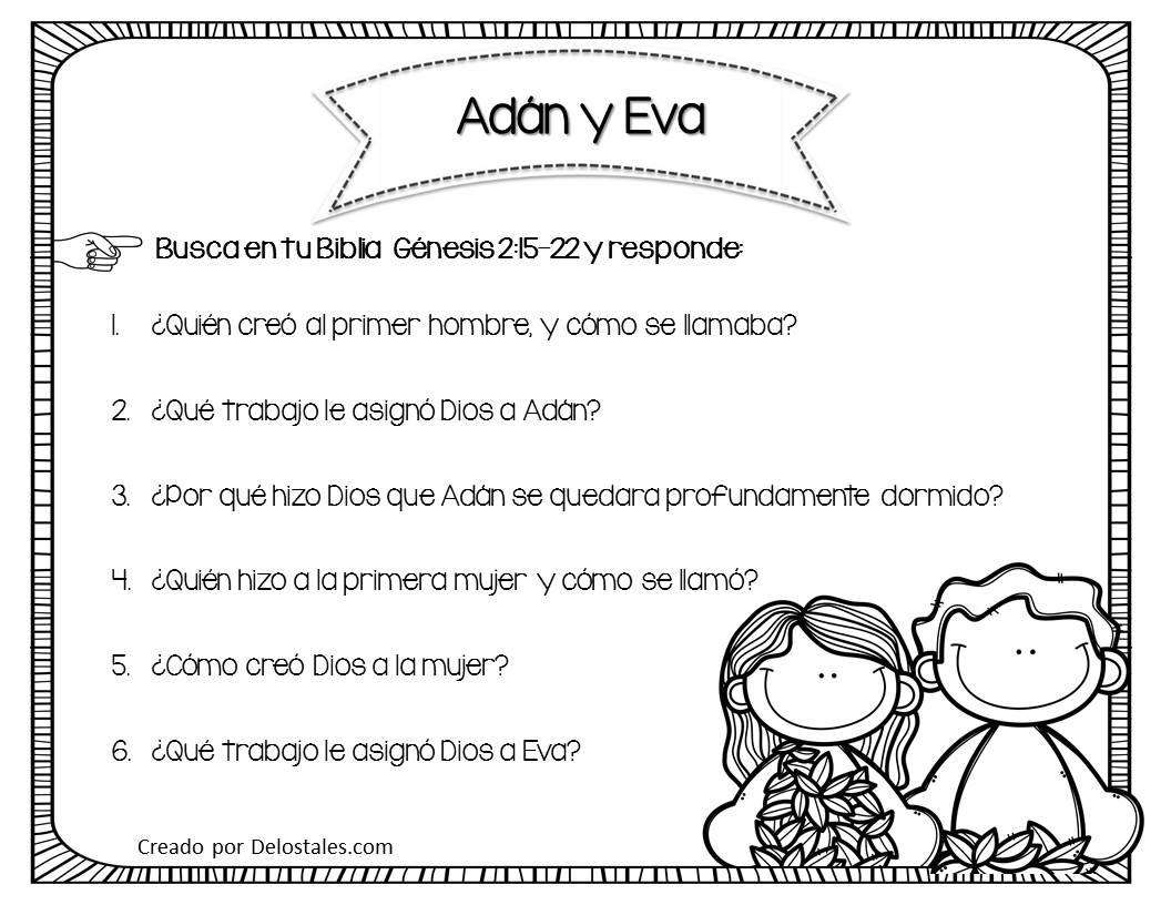 De los tales ad n y eva for Adan y eva en el jardin