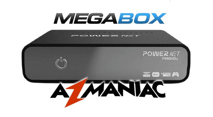 Megabox Powernet P990 HD 2