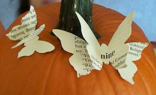 3-D Paper Butterfly Tutorial