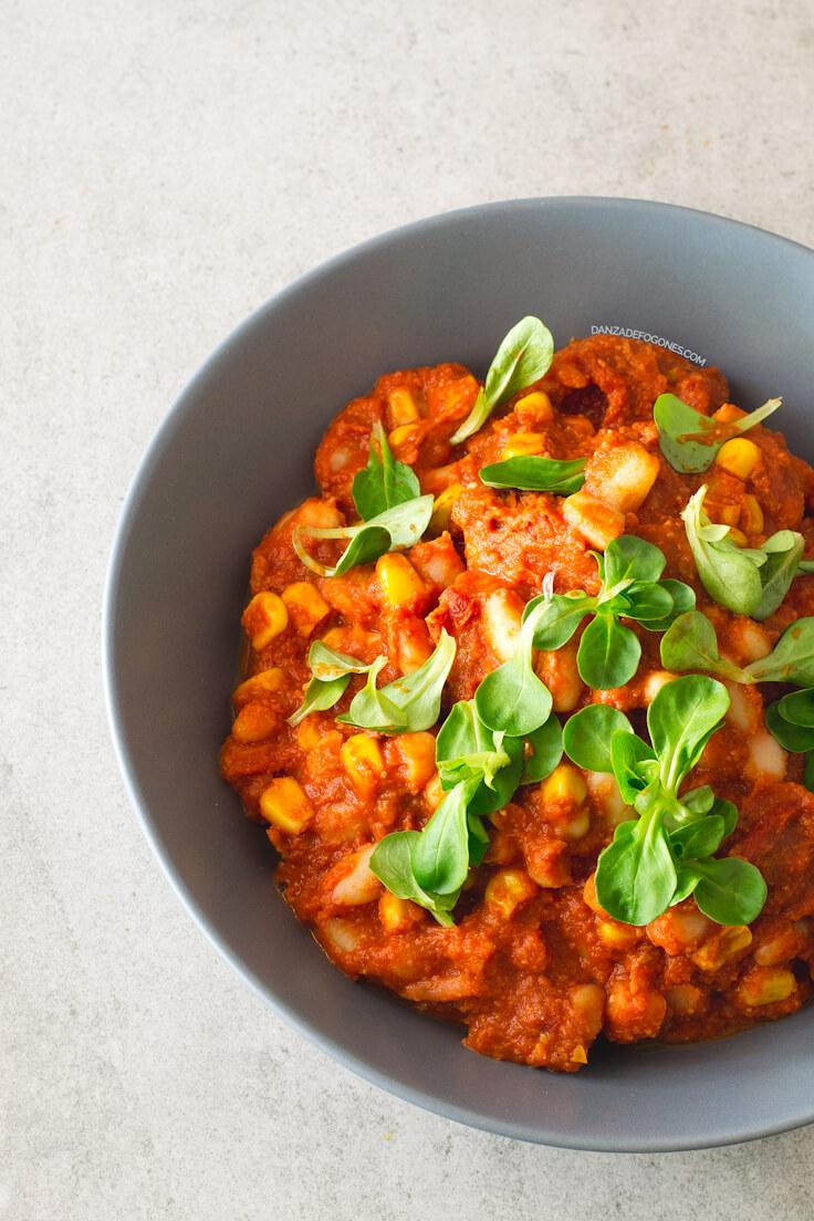 Bean Stew in 15 Minutes