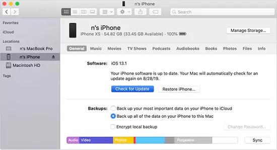 إصلاح خطأ iPhone 4013 أثناء التحديث