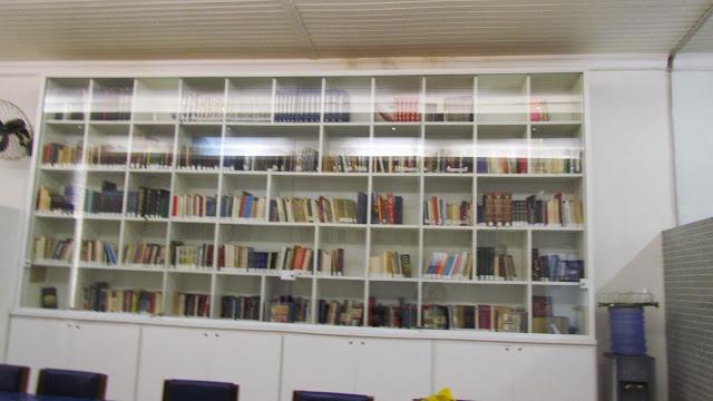 Biblioteca de uma Loja Maçônica em Santo Amaro, zona sul de São Paulo Capital