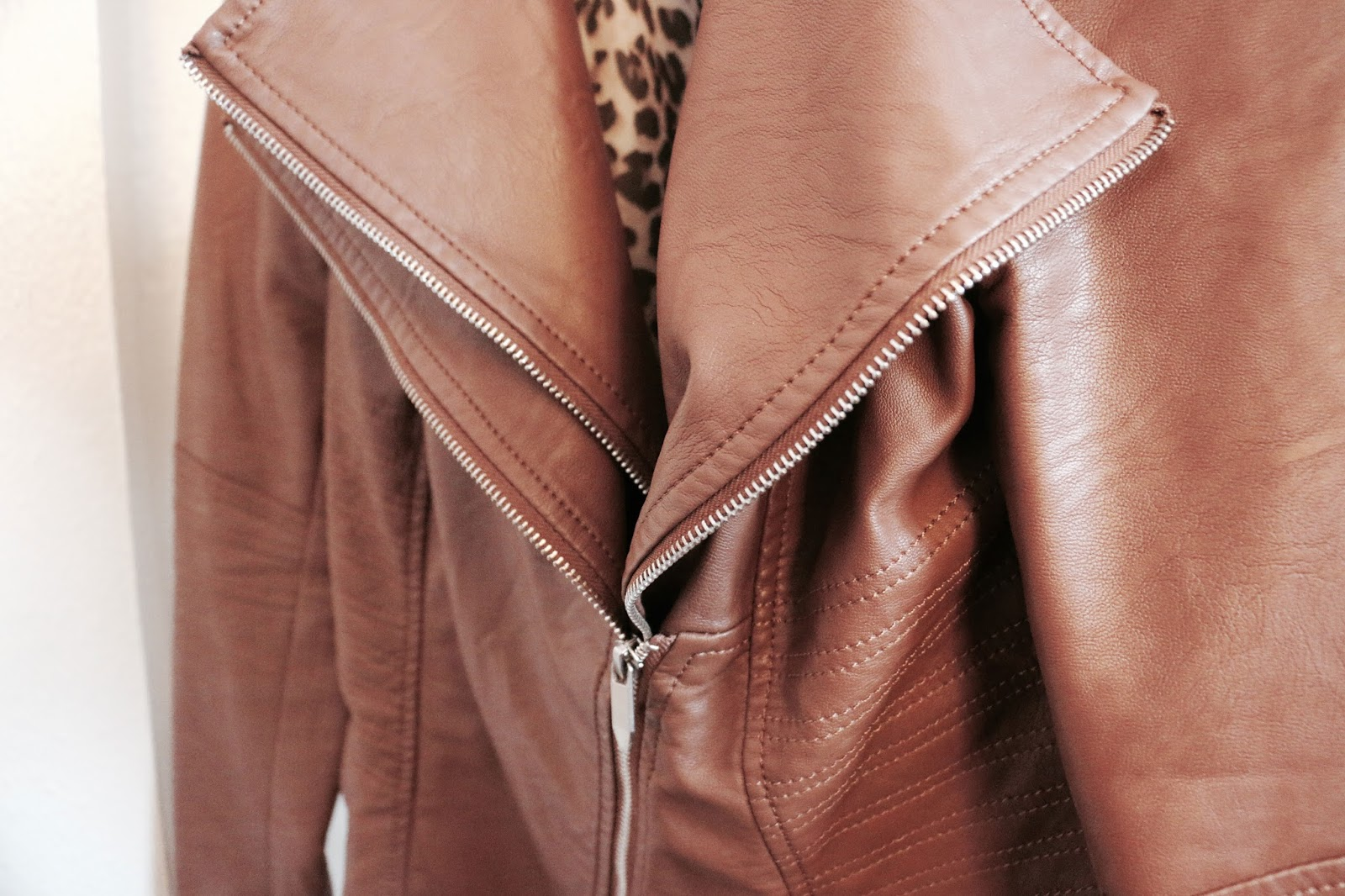Leather Jacket - Feather + Steele