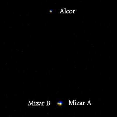 mizar alcor 900mm canon rebel xt