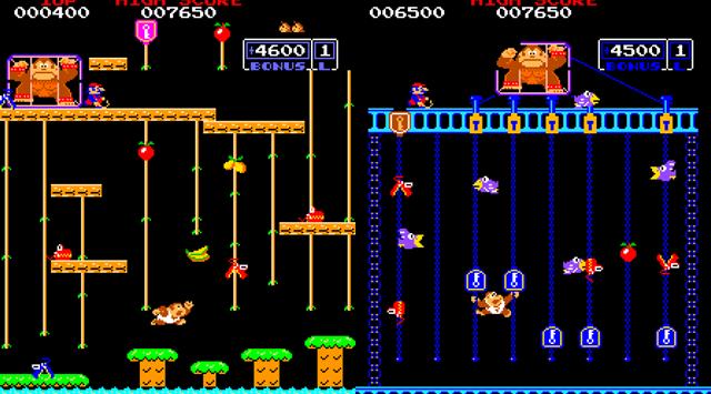 1982. Donkey Kong Junior Arcane