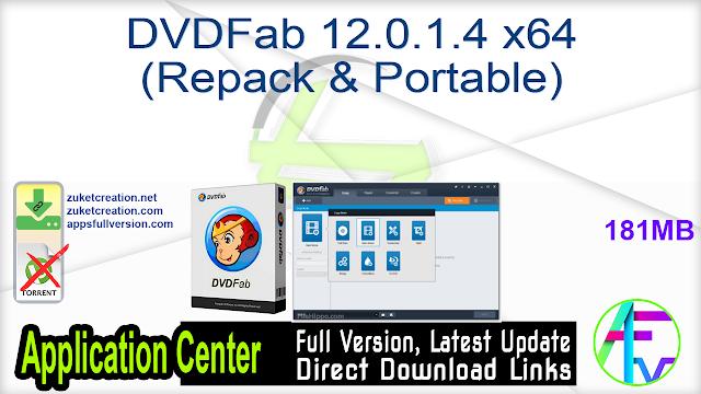 DVDFab 12.0.1.4 x64 (Repack & Portable)