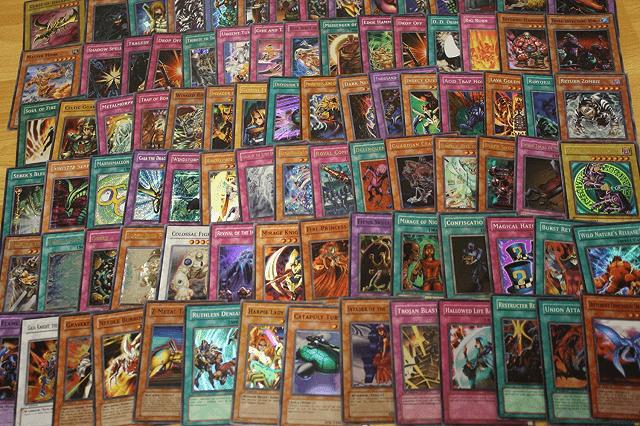 koleksi kartu yugioh