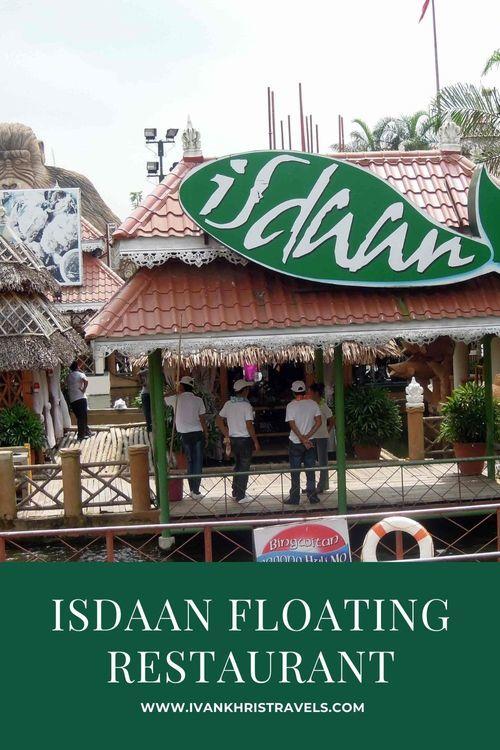 Isdaan Floating Restaurant restaurant review