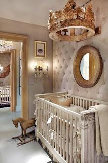 elegante dormitorio bebé
