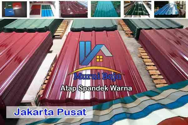 Harga Atap Spandek Warna Jakarta Pusat