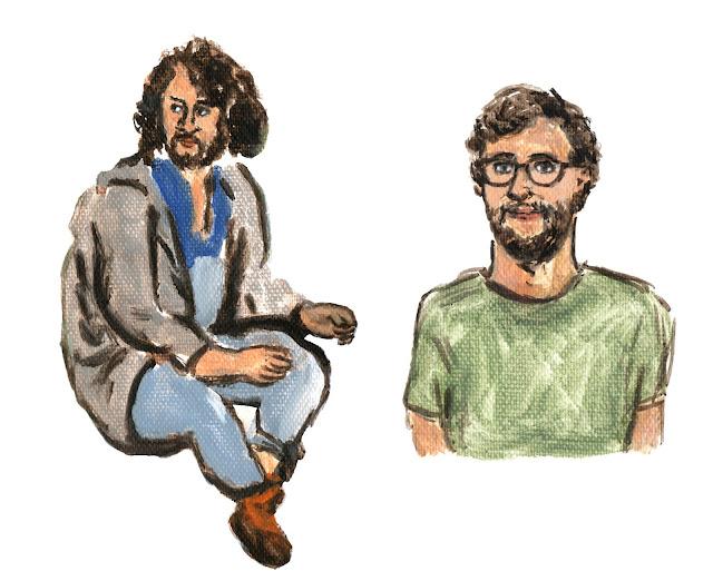 Sadiq (George Tobal), Thijs (David Lucieer)
