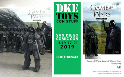 San Diego Comic-Con 2019 Exclusive Game of Wars Lord of Winter Star Resin Figure by Topztoy x DKE Toys