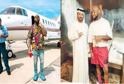 Where is Davido currently?