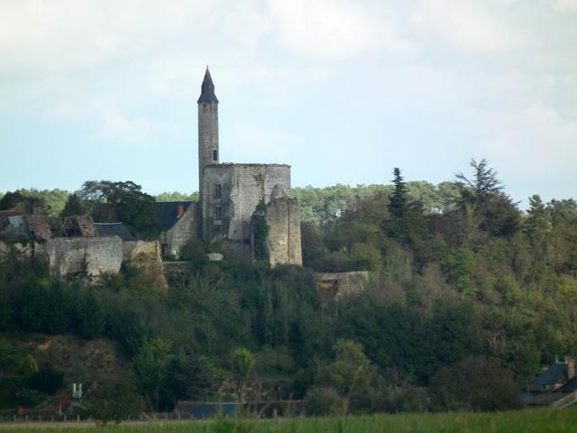 Chateau de la Tour de Marmande, Vienne, France. Photo by Loire Valley Time Travel.