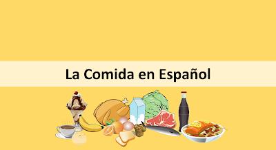 Comida em Espanhol