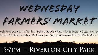 Riverton Wednesday Farmers Market, 5-7 PM