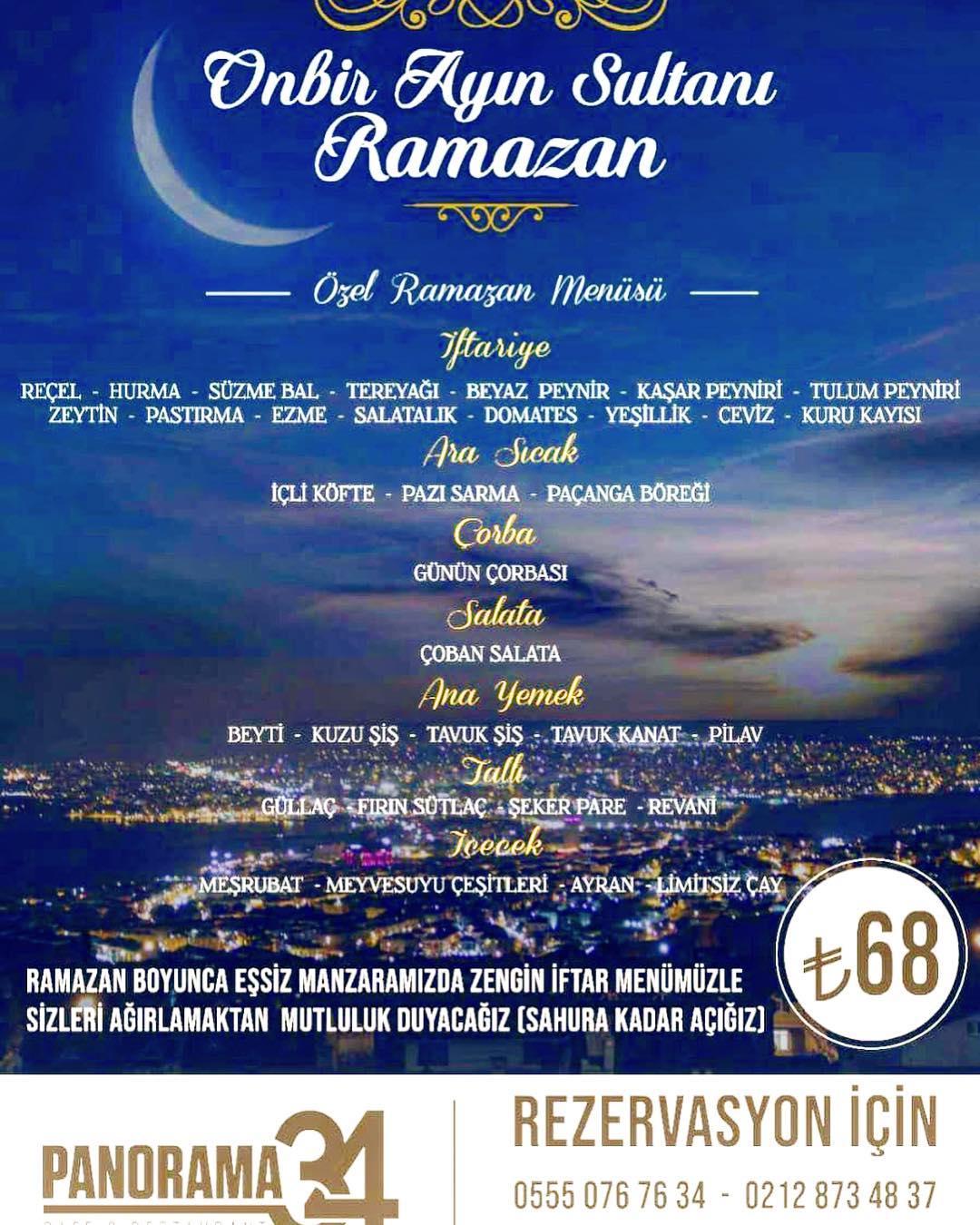 panaroma34-büyükcekmece-istanbul-iftar-menü