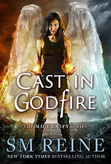 Cast in Godfire by S.M. Reine