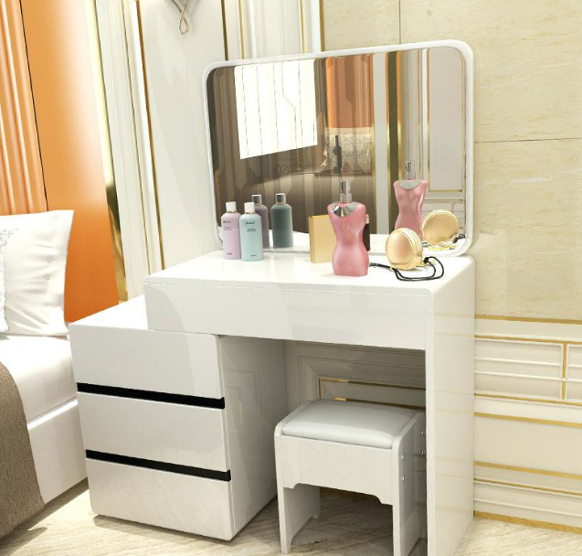 gambar meja rias modern
