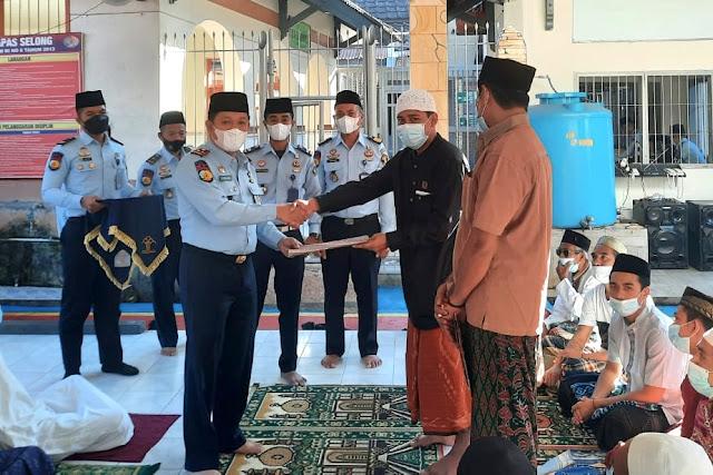 209 warga binaan Lapas Selong dapat remisi hari raya Idul Fitri