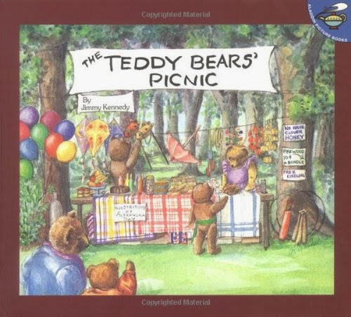 Books about bears- children's book review list.
