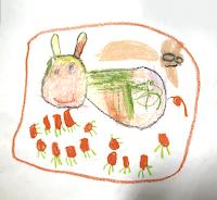參與 KIDS ART 的小花和媽媽都很喜歡這幅畫