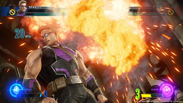 screenshot-2-of-marvel-vs-capcom-infinite-pc-game