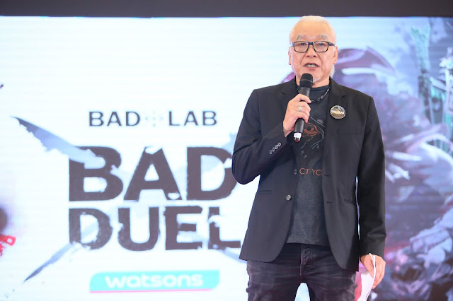 pengarah komersil bad lab, lum chong heng pengarah komersil bad lab, anjur esukan the bad duel,