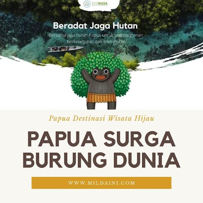 Papua Surga Burung Dunia