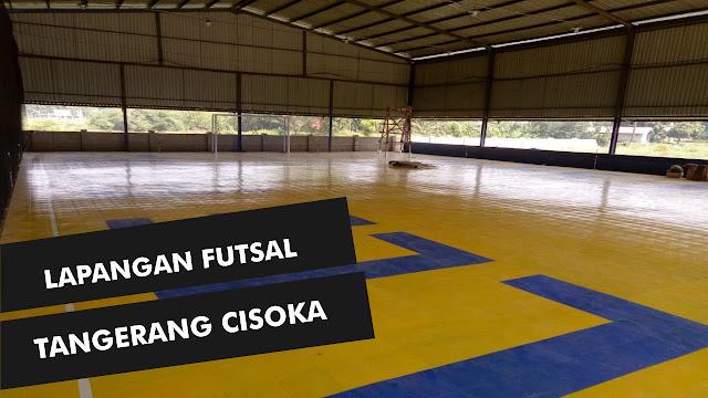 Jual Lantai Interlock Futsal di Tangerang