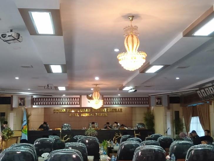 DPRD Sungaipenuh Gelar Rapat Paripurna Mengenai Ranperda Pelaksanaan APBD 2018